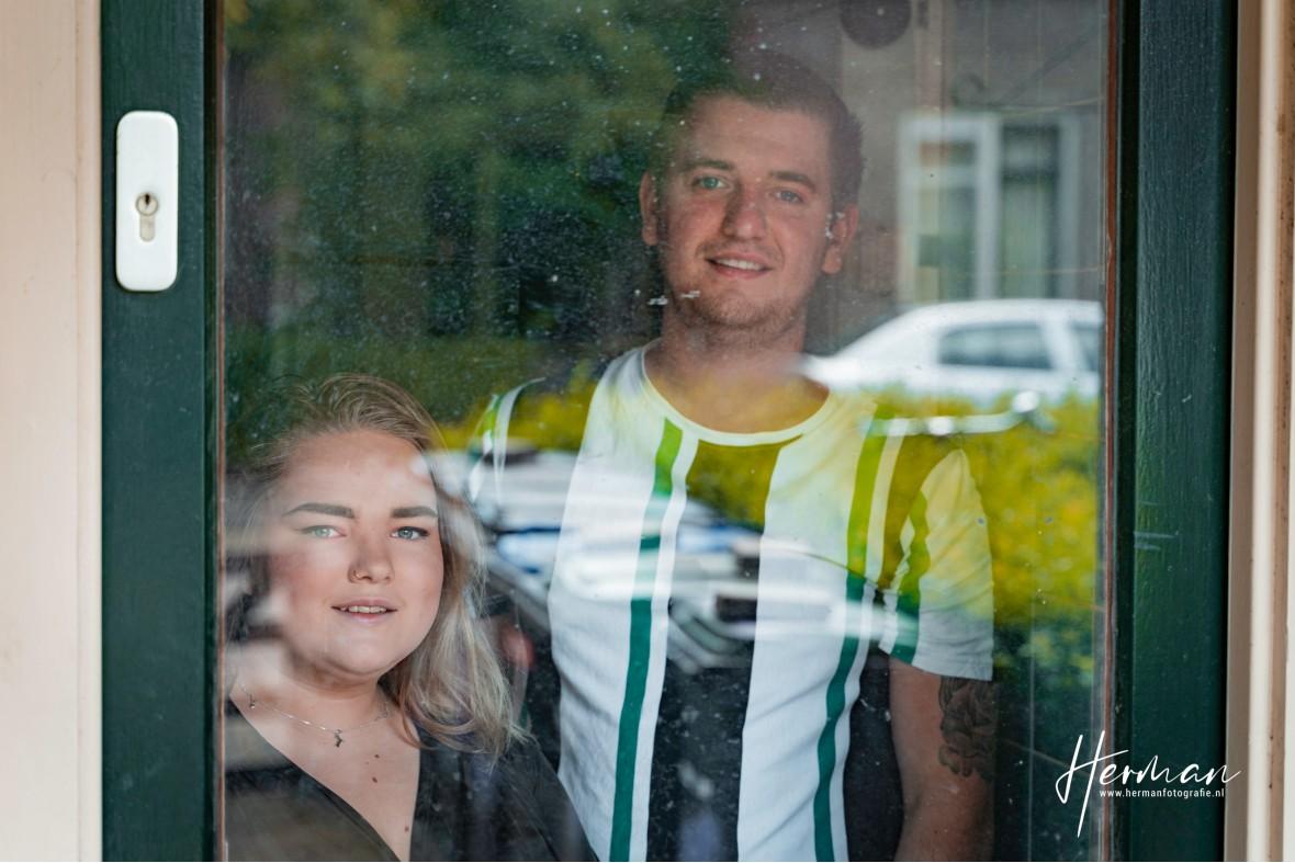 In Dordrecht gratis op de foto - 11 May - Glashelder Herman - 2