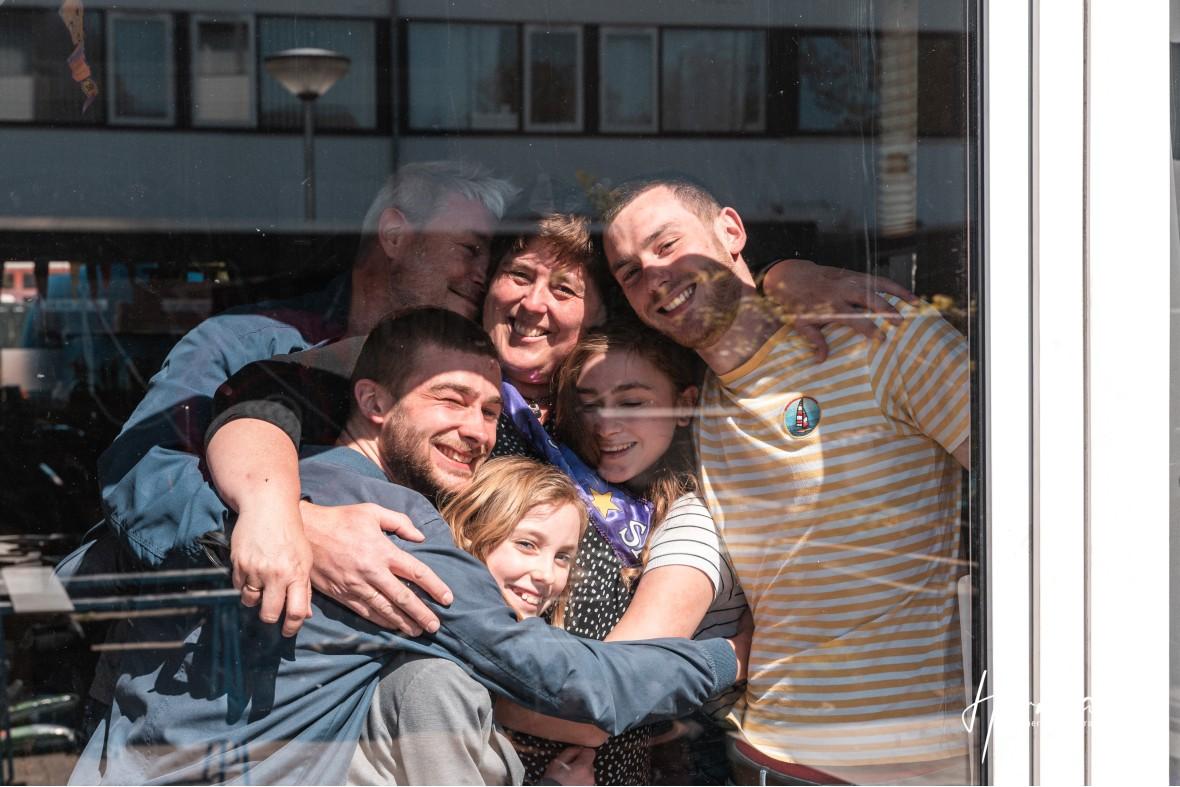 In Dordrecht gratis op de foto - 20 Apr - Glashelder Herman 04
